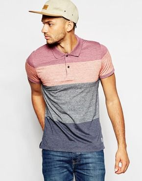 Jack & Jones Stripe Polo Shirt