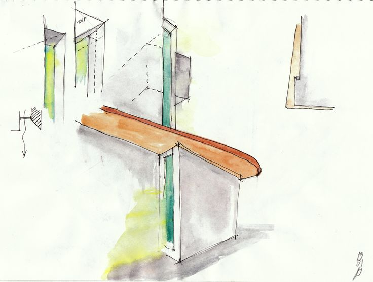 ecovastudesign / Vančura's Apartment / Kitchen counter design