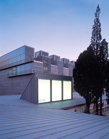 "Tuñón y Mansilla ""M U S E U"" FINE ARTS MUSEUM OF CASTELLÓN, Spain. 1996-2000"