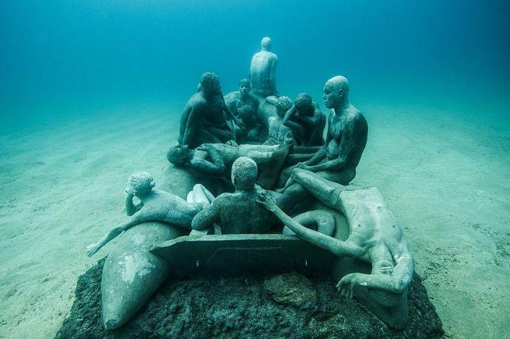Tratwa Lampedusa - Lanzarote