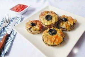 Ciuperci umplute cu branza - Culinar.ro