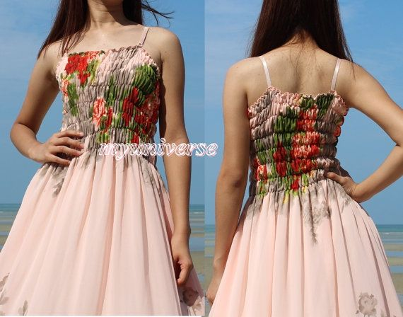 1000 Ideas About Beige Bridesmaid Dresses On Pinterest: 1000+ Ideas About Peach Maxi Dresses On Pinterest