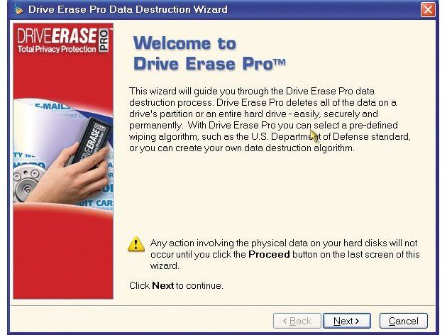 Drive Erase Pro review | We've all got used to the idea that dropping files in the Recycle Bin -it's like a Last Chance Saloon for files. One right-click on the bin icon, followed by selecting 'Empty Recycle Bin' and all the files itcontains are gone forever. Or are they..? Reviews | TechRadar