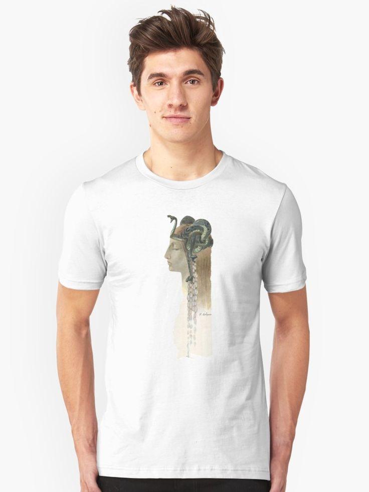 Art Nouveau Medusa - Rene Lalique Unisex T-Shirt