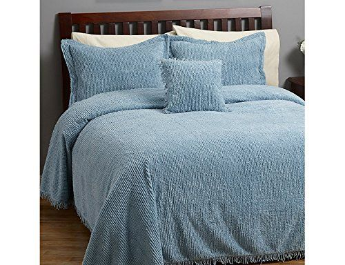 """Product review for Concerto 3pc Chenille blue Bedspread Set Full: comforter, 2 standard shams.  - Famous Words of Inspiration…""""No man is justified in doing evil on the ground of expediency."""" Theodore Roosevelt — Click here for more from Theodore Roosevelt         Famous Words of Inspiration...""""I keep six honest serving-men (They taught me all I knew); Their names are What and Why and When And How and Where and Who."""""""