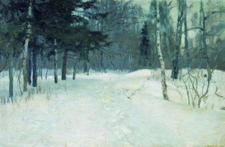 Жуковский. Лес зимой