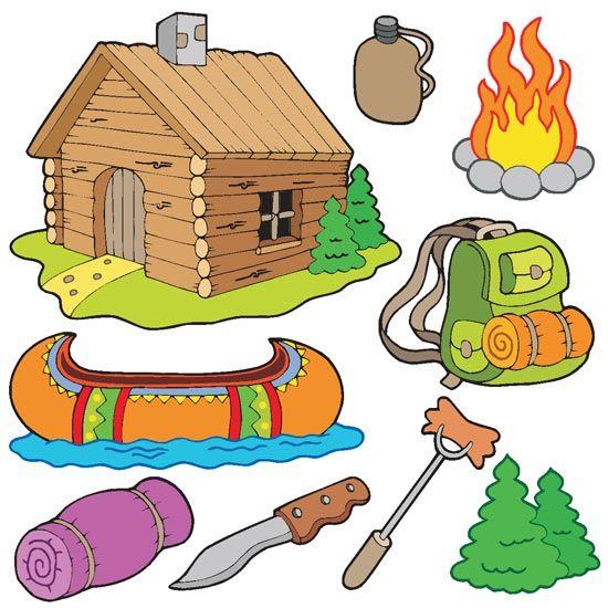 Best Illustration Camping Images On Pinterest Clip Art - Camping clip art