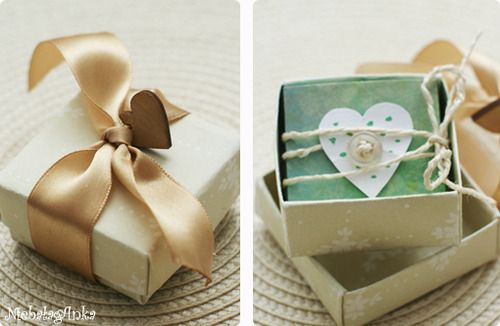 gift box, wedding DIY