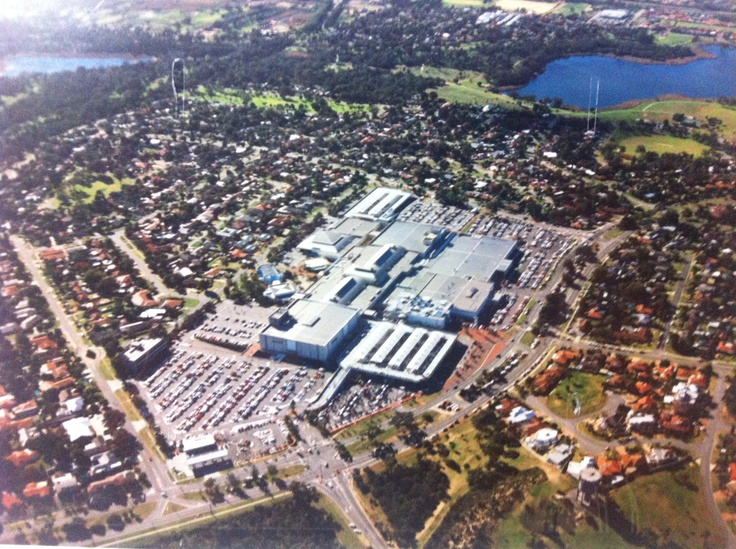 An overview of Karrinyup Shopping Centre #Karrinyups40thbirthday
