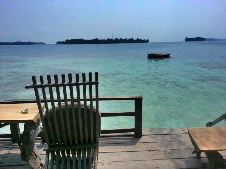 Tiger island, kepulauan seribu, indonesia