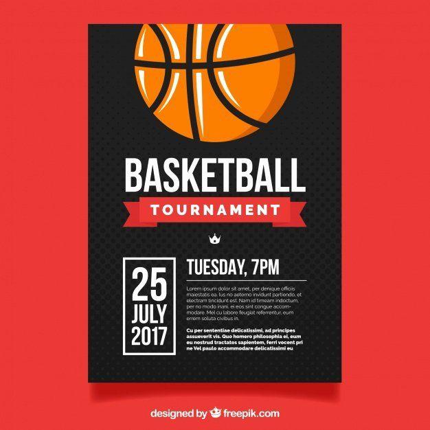Basketball Psd Flyer Template Free Basketball Psd Flyer