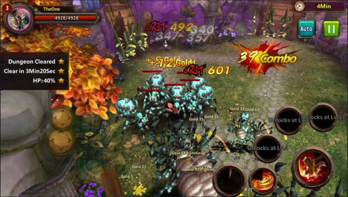 Fury Fables is a Android Free 2 play, Action Role Playing