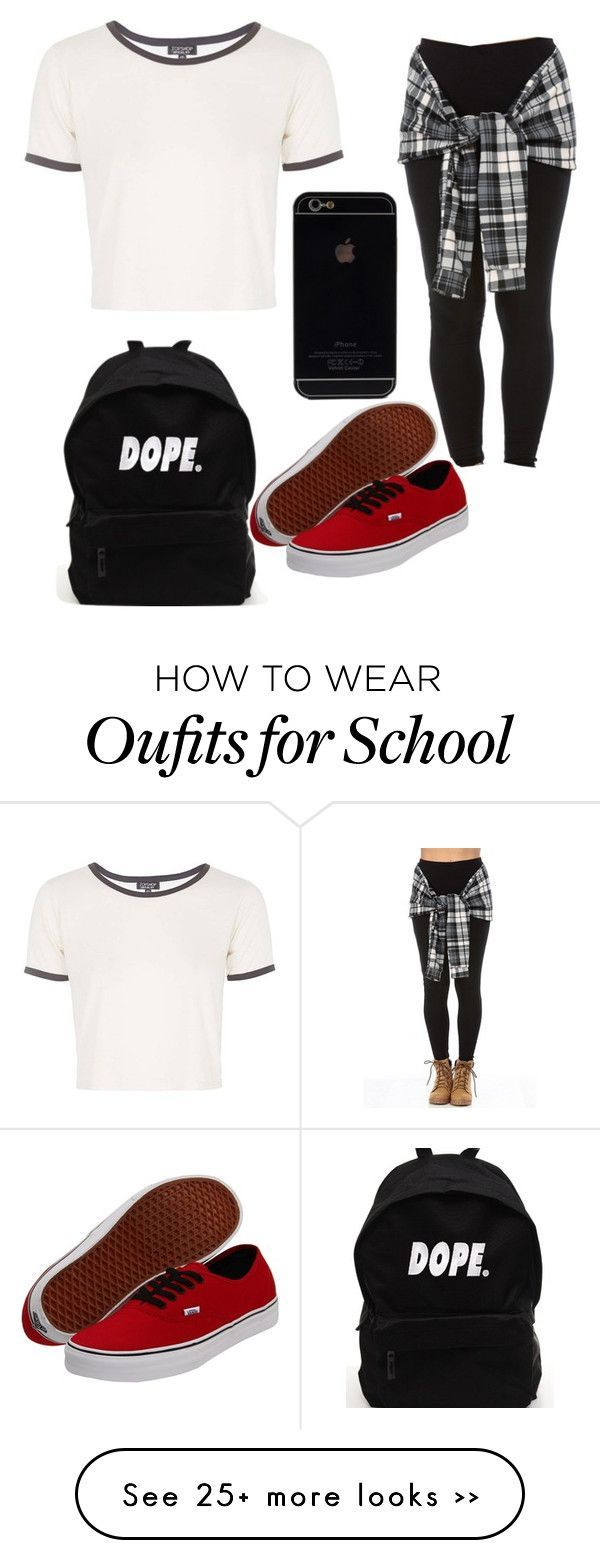 """""""Back To School Look 3"""" by zeniboo on Polyvore, everything except for the bookbag :)"""