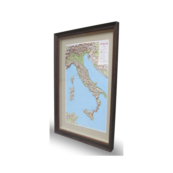 Portfolio example from Frames Now; 3D Map of Italy. Multiple locations across Melbourne and offer a variety of custom services including glass and mat cutting.