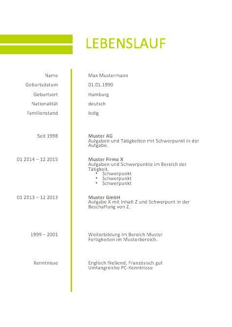 Großartig Planer Lebenslauf Beispiele Galerie - Entry Level Resume ...