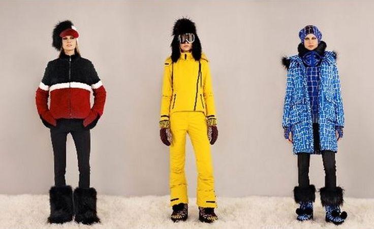 Fendi Leasurewear: arriva l'Abbigliamento da Neve extra lusso Fendi collezione Leasurewear abbigliamento neve