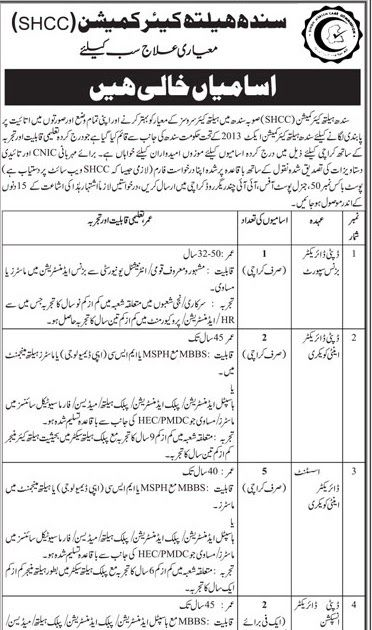 This job Ad published in Daily Kawish newspaper on 27