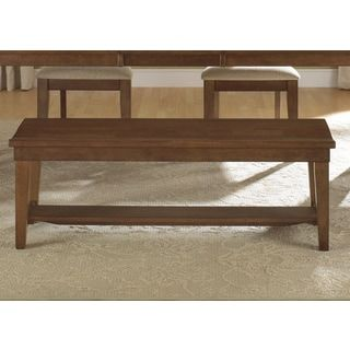 Shop for Hearthstone Traditional Rustic Oak Dining Bench. Get free shipping at Overstock.com - Your Online Furniture Outlet Store! Get 5% in rewards with Club O! - 17181791