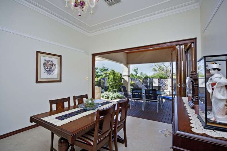 Dining room, Bayswater project