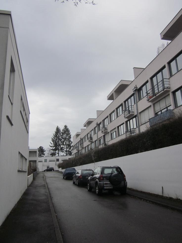 Weissenhof Estate Bauhaus architecture Stuttgart photo by Tjerk Meijdam
