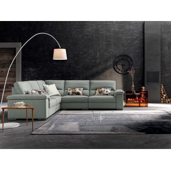 Coltar fix din piele Cliff living - Design elegant si confort garantat! #coltare #living #livingmodern #mobilaliving #DecoStores #livingfurniture #cornersofa #homedecor