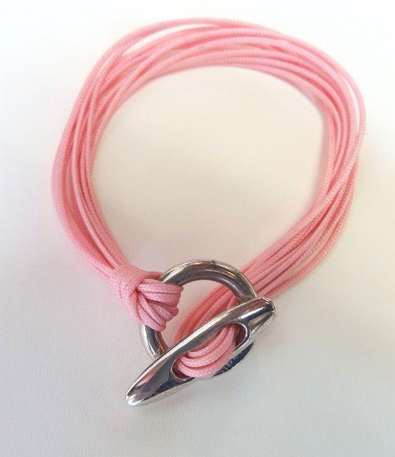 Cerfagli Gioielli Bracciale corda rosa