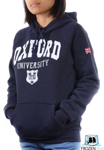 Oxford University Hoodie | Official Merchandise | Navy | Size S, M ,L, XL | London Souvenirs | Sweater | Sweatershirt