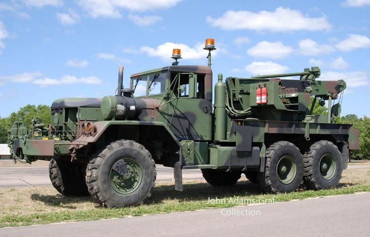 1971 M816 With Winch Army Pinterest