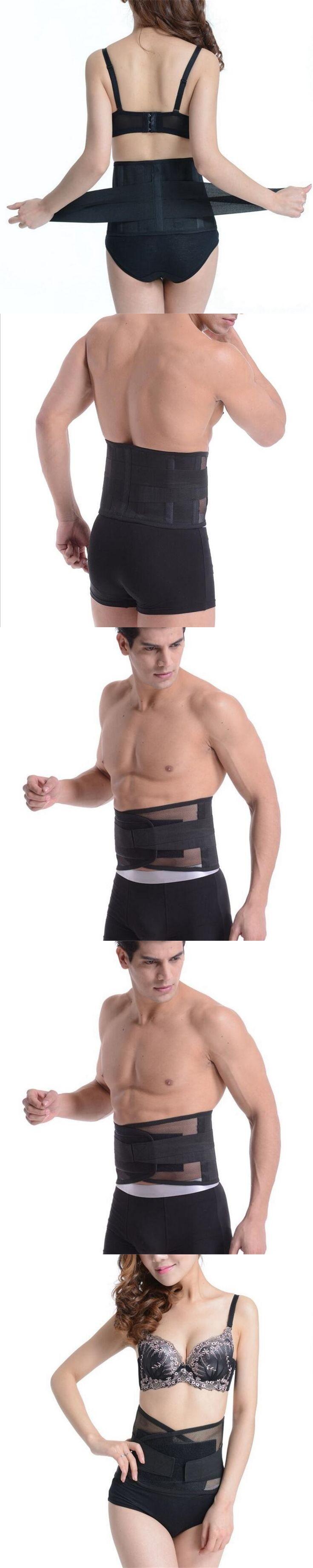 Four Steels Breathable Lumbar Support Belt Back Braces Waist Treatment of Lumbar Disc Herniation Lumber Muscle Strain AOFEITE