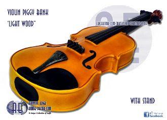 Money Bank 'Light Grain' Violin