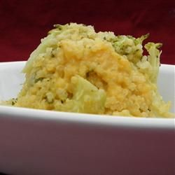 Cheesy Broccoli Quinoa Recipe...high in calories though if using for a ...