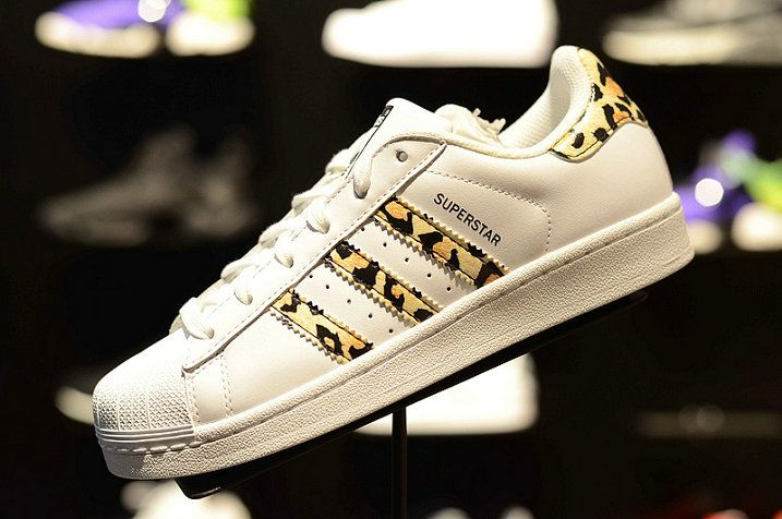 2018 Buy Adidas Originals Superstar Leopard Print Unisex