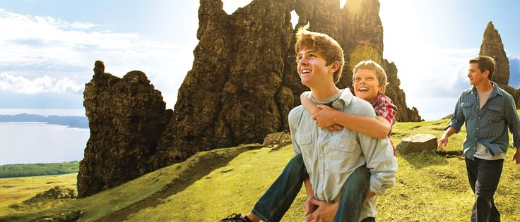Disney vacations - Experience the beautiful landscapes with the family Scotland vacation package.