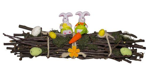 Natúr húsvéti dekoráció