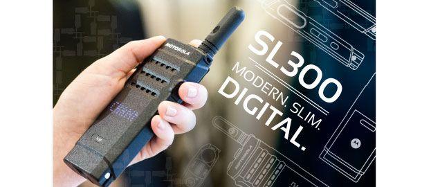 Motorola SL300 Two-Way Radio - Amerizon Wireless