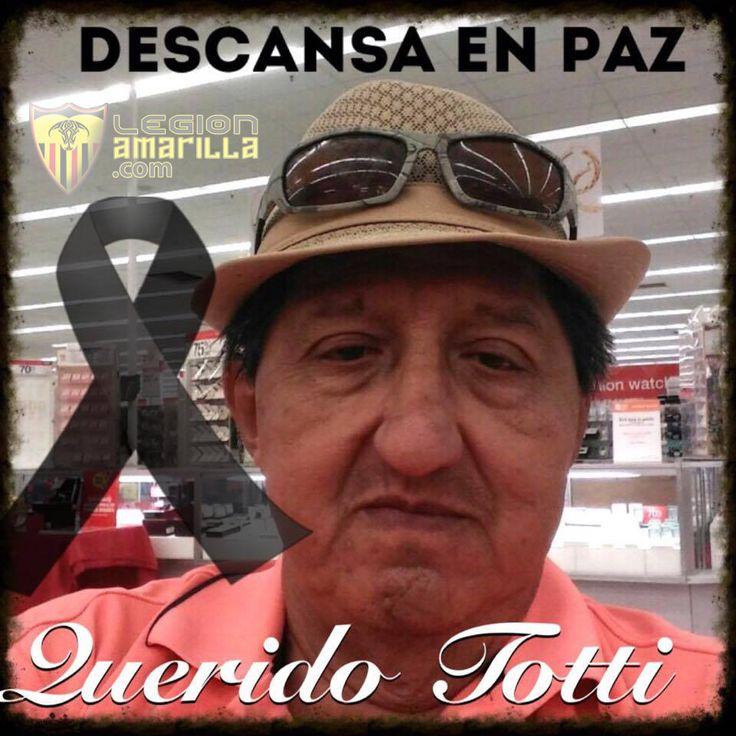 Cuando un amigo se va…Descansa en paz mi querido Totti