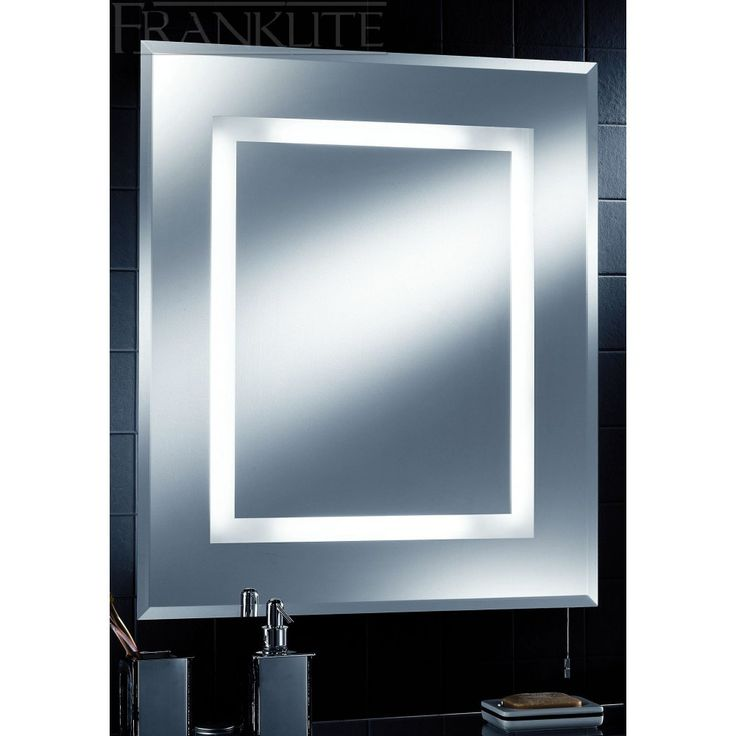 Bathroom Mirrors With Lights And Shaver Socket Sale