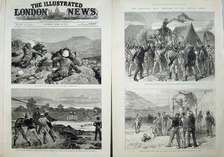 This Day in History: Feb 27, 1881: The Battle of Majuba Hill, South Africa http://dingeengoete.blogspot.com/ http://www.old-print.com/mas_assets/full/N1490881508T.jpg