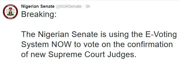 Senate Confirms Buhari's Nominees as Supreme Court Justices.   The senate of the federal republic of Nigeria today confirmed President Muhammadu Buhari's nominees as justices of the supreme court.  During its plenary session on Tuesday the Nigerian Senate confirmed - Ejembi Eko (Benue) and Amina Augie (Kebbi) - as justices of the supreme court. It was gathered that in a letter dated September 22 President Buhari had sent the names to the senate for confirmation which was referred to the…