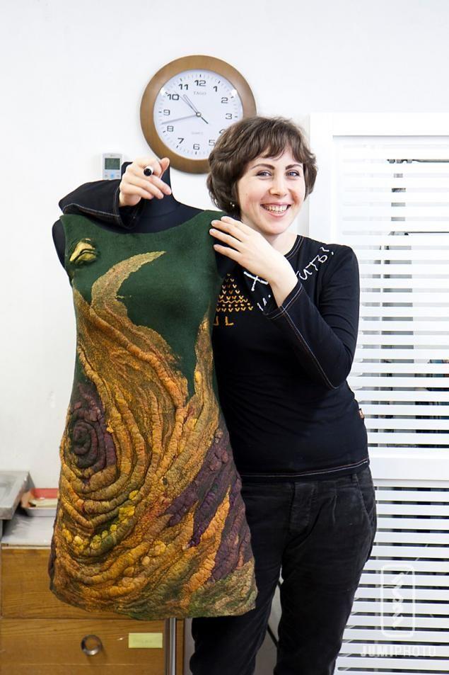 Диана Нагорная. 21 марта семинар по АРТ- платью с декоративными объемными…