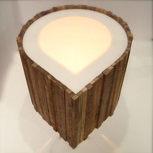 Acorn End Table now featured on Fab.