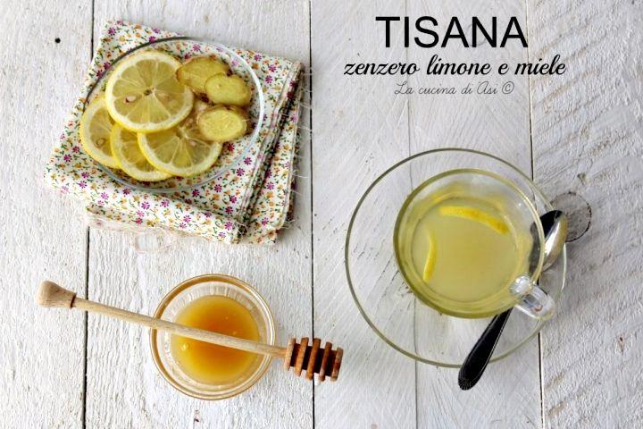 TIsana con zenzero limone e miele una bevanda detossicante e che accelera il metabolismo un vero toccasana ma attenzione alle controindicazioni