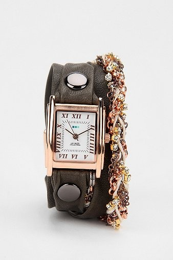 La Mer Crystal Wrap Watch, Urban Outfitters