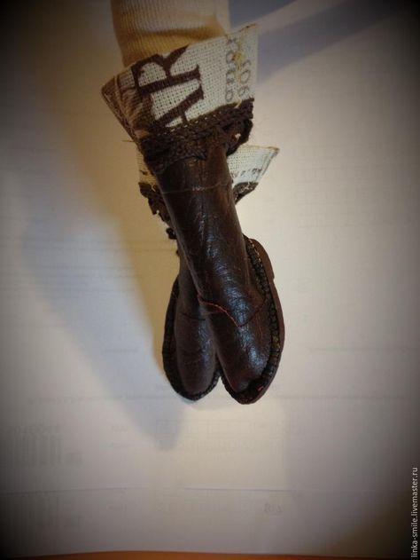 Делаем обувь для Тильды с прямыми ножками