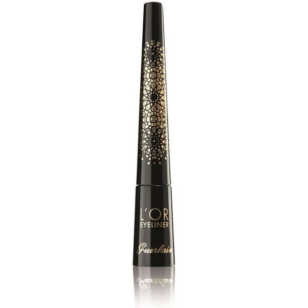 Guerlain Natalia Vodianova Christmas Collection L'Or Eyeliner found on Polyvore featuring beauty products, makeup, eye makeup, eyeliner, beauty, guerlain eyeliner and guerlain