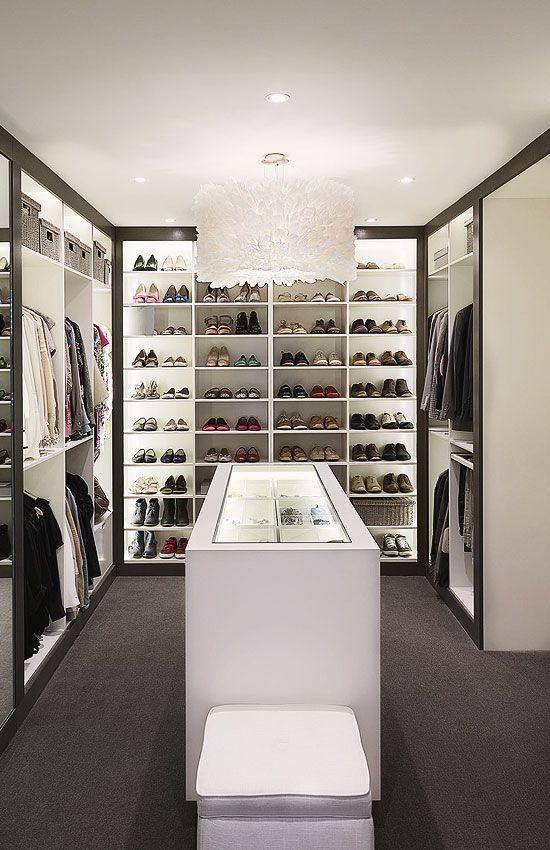 Luxury Walk In Closet walk in closets. walkin closet design with wood storage cabinets