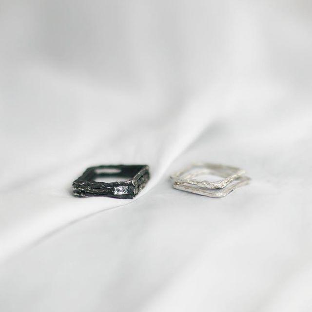 😚💕💎 #new #silver #gold #brass #rings #ringselfie #work #madeforyou #mywork #jewelry #design #designer #polishart #modern #minimalism #brand #silver #silverjewelry #stone #goldjewelry #ruby #gemstonejewelry #mix # mixandmatch #possibilities #annasamkow #samkow #warsaw #poland
