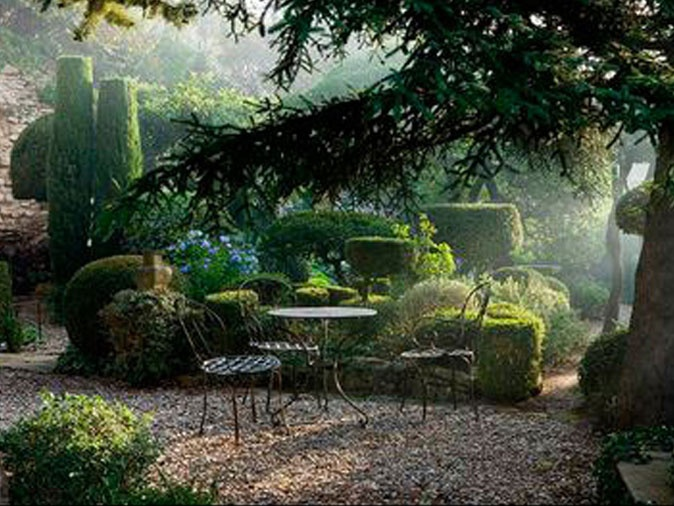 99 best jardin en provence images on pinterest provence provence france and secret gardens - Jardin provencal ...