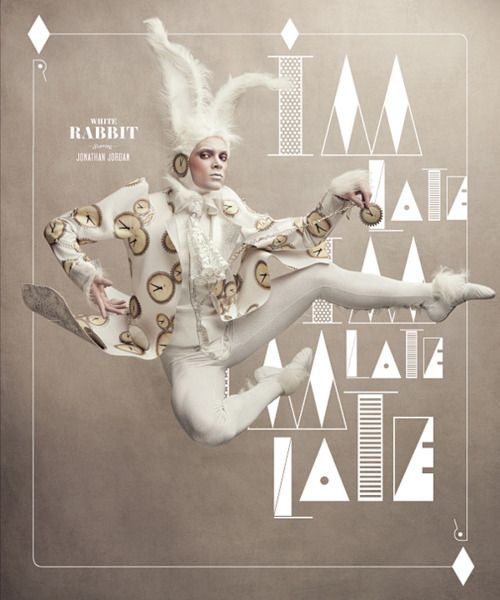 Washington Ballet's White Rabbit, Design Army style.