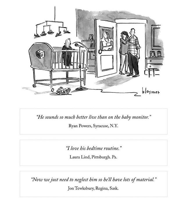 How Should I Have Voted My Entry In The New Yorker Cartoon Caption Contest 669 Buff Ly 330gvsg Cartoon Caption Contest Parenting Photography Caption Contest